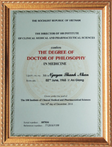 Bằng Tiến sĩ y học